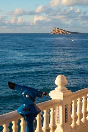 Views on the Mediterranean from Benidorms landmark viewpoint