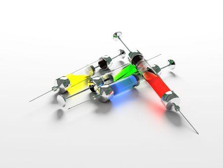 Injection, Syringe, medicine photo