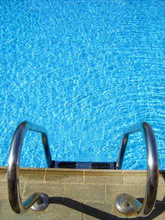 briliance: ladder water-pool