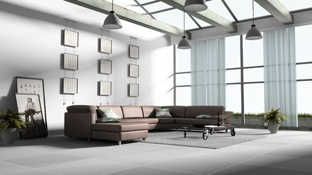 tulle: Home interior 3D rendering