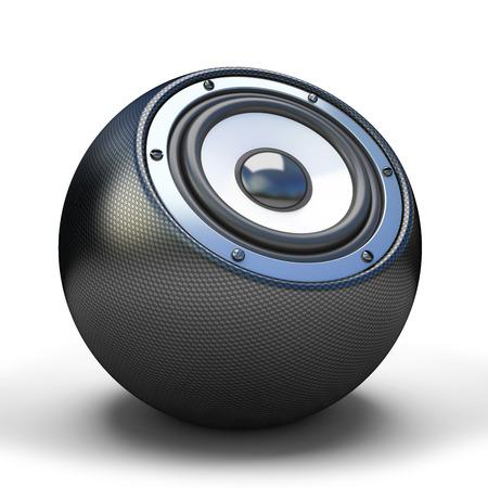 speaker system: Cardon sphere speaker