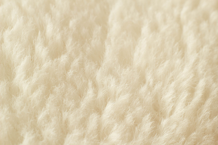 Delicate white nap texture, macro, texture of fabric, light Stock Photo