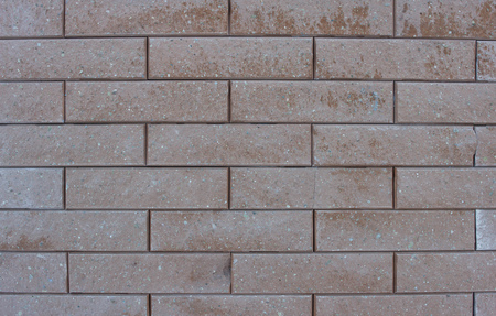 Modern designer brown brick wall, background, texture