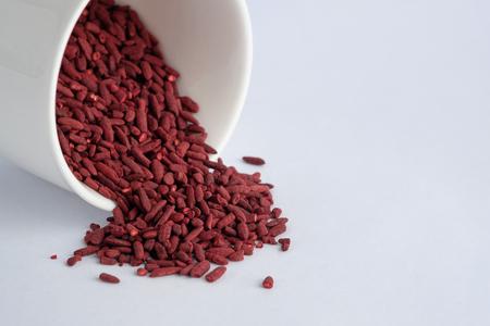 riz de levure rouge