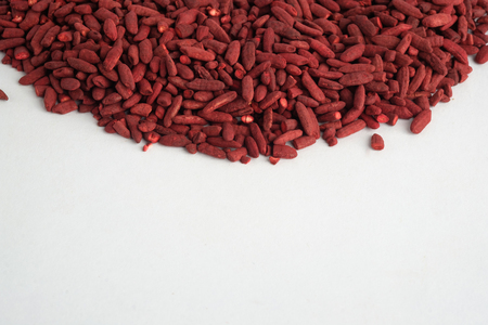 Red yeast rice Standard-Bild