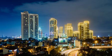 Makati city night