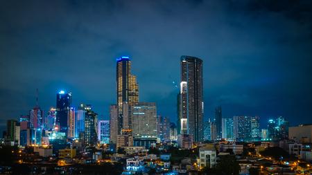 Makati city skyscrapers