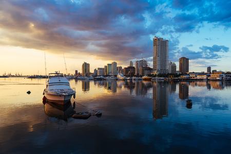 Manila baai zonsondergangen