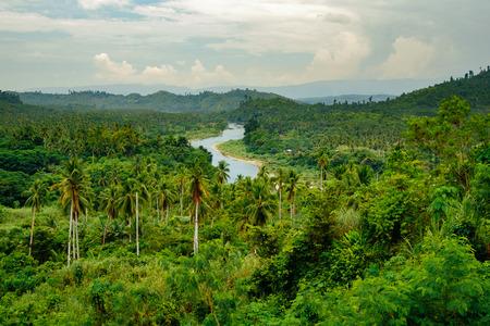 Compostela valley in Davao de Oro, Philippines
