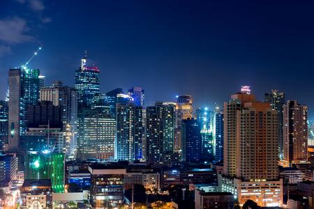 Makati city of Manila