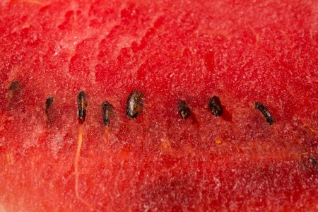 Close up shot of watermelon with seeds Stock fotó
