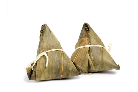 Chinese rice dumpling or Zongzi that made from glutinous rice stuffed with different fillings