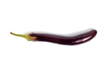 Eggplant or brinjal, plant species in the nightshade family.