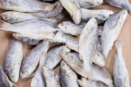 Salted fish or Sun dried fish as famous food in Indonesia