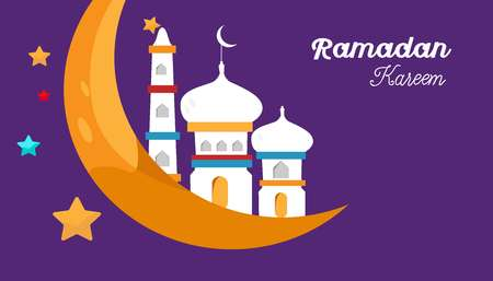 Ramadan Kareem Vector Illustration - Eps 10 vector - Vector
