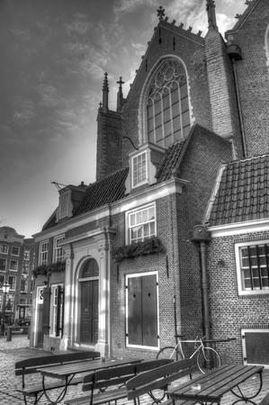 hdri: church in Amsterdam, Netherlands