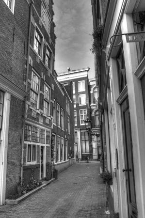 hdri: Street Monochrome Amsterdam Netherlands HDR