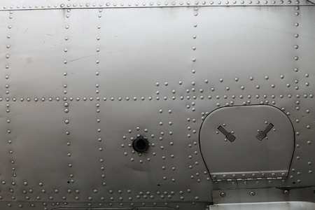 aluminum airplane: Fighter Airplane Surface Background