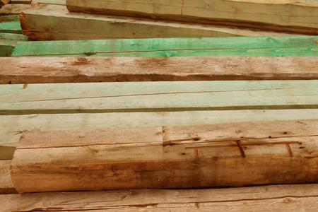 wooden beams: wooden beams
