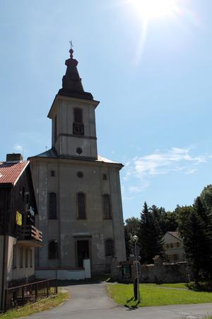 nad: Church of Rokytnice nad Jizerou