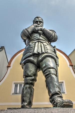 albrecht: Albrecht of Wallenstein statue in Frydlant