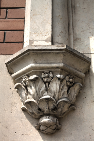 sculpting: Sculpting on Town Hall Building Frydlant