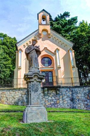 skala: Church near Mala Skala center