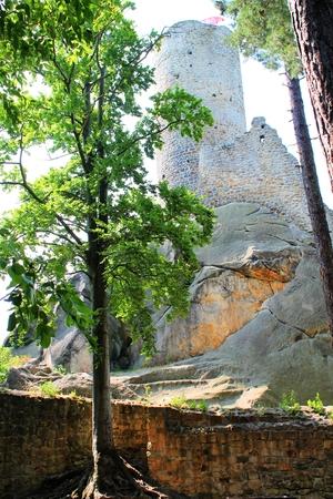 skala: Frydstein Castle near Mala Skala
