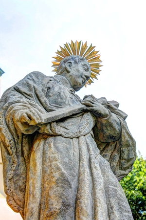 skala: Catholic Statue near Mala Skala