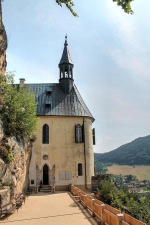 skala: Vranov Castle near Mala Skala