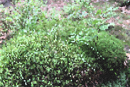 artictic: Artistic Stained Glass Forrest Moss Background