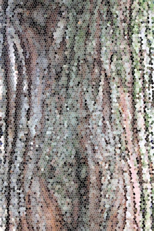 artictic: Artistic Stained Glass Tree Trunk Background Stock Photo