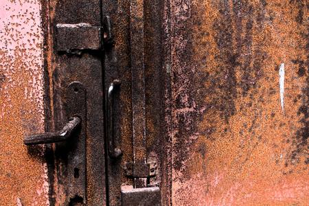 artictic: Artistic Fresco Rusty Door Background