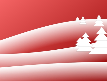 unnatural: Artificial Snow Abstract Background Red