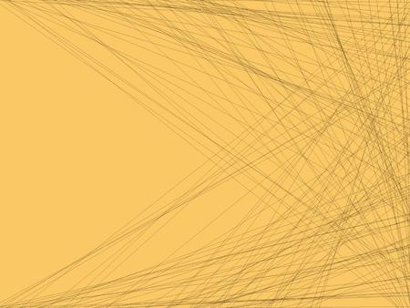 fondo artistico: Artistic Background Orange Lines Foto de archivo