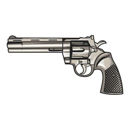 Handgun Pistol Illustration Векторная Иллюстрация