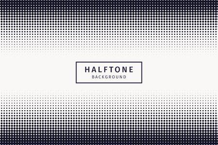 Black halftone background vector landscape pattern Иллюстрация