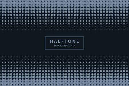 Dark halftone background vector landscape pattern Иллюстрация