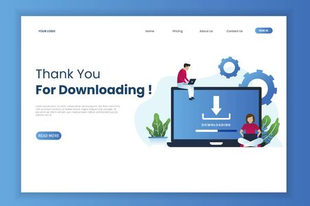 Download landing page template. This is great for websites, landing pages, mobile applications, posters, banners