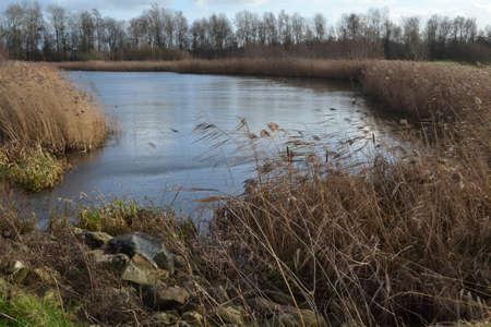ijssel: pound near river Oude IJssel