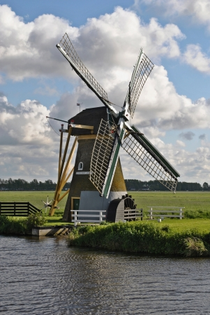 nederland: Mill at Voorhout in The Netherlands