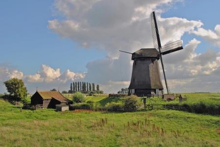 schermerhorn: Mill at Schermerhorn in The Netherlands