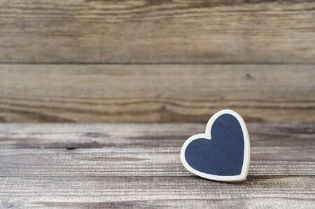 heart on wood background 3