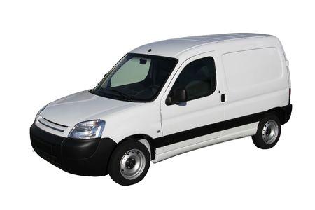 Kleine Transport Auto, auf weißen Hintergrund isoliert Standard-Bild - 5513636