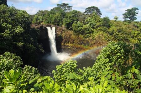 Rainbow Falls (Big Island, Hawaii) Stock Photo - 10087536