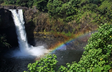 rainbow falls (big island, hawaii) 02 photo