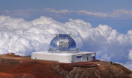 honolulu: infrared telescope facility (irtf) at mauna kea (big island, hawaii)  Editorial