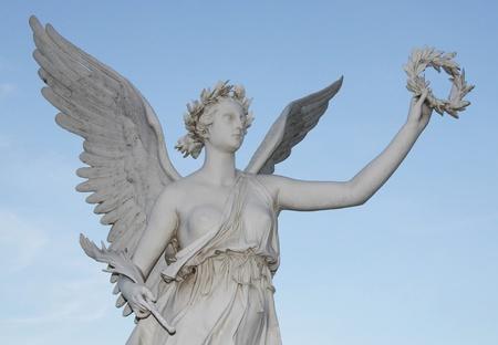 Statue of the goddes Nike  Standard-Bild