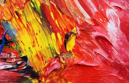 Nahaufnahme von Ölfarben Standard-Bild - 12136475
