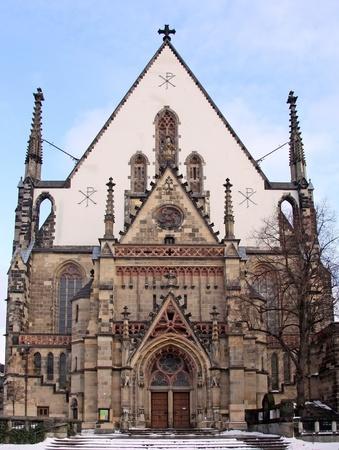 attraktion: St. Thomas Church, Leipzig (Germany)